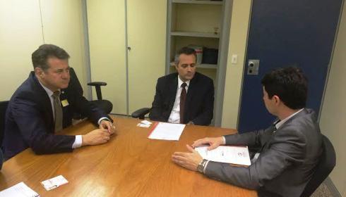 Trabalho por apoio do Ministério da Justiça para resolver questão indígena em Soledade