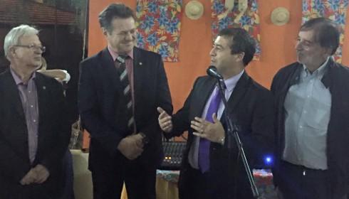 Giovani Cherini recebe homenagem da CNPL em Brasília
