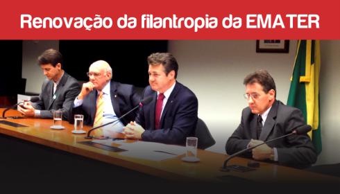 BANCADA GAÚCHA DEFENDE A RENOVAÇÃO DA FILANTROPIA DA EMATER